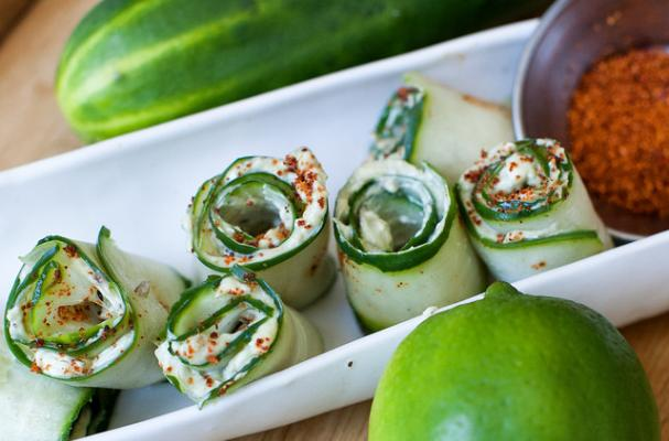 Cucumber Avocado Chili Lime Roll