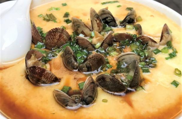 Chinese Clam Custard from Kulangsu Island