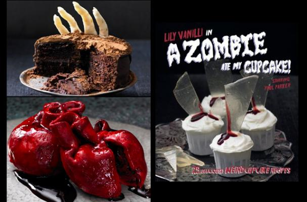Lily Vanilli's Zombie At My Cupcake Book and Treats