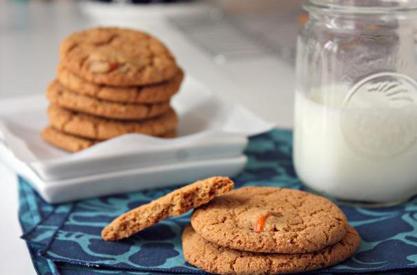 Gluten Free Kumquat and Gingersnap Cookies