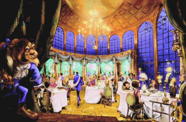 Disney World to Open Beauty and the Beast Restaurant