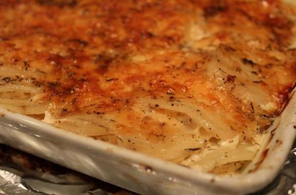 Classic Scalloped Potatoes