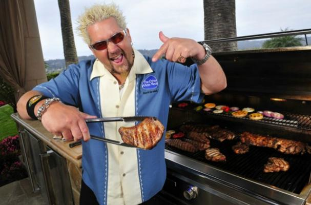 Guy Fieri Sells Meat Products at Costco