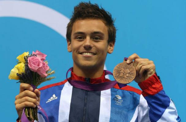 Tom Daley's Diet Helped Make Him an Olympic Champion