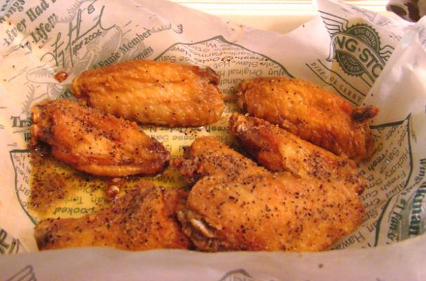 wingstop style lemon pepper chicken wings