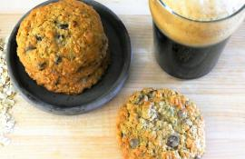 Oatmeal Stout Chocolate Chip Cookies